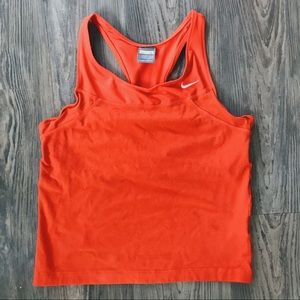 NIKE • Women's Workout Tank in Red